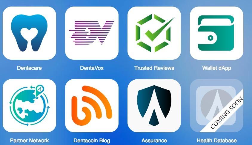 Dentacoin apps