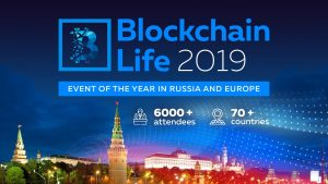 The Biggest Forum Blockchain Life 2019 Will be Held in Moscow on October 16-17